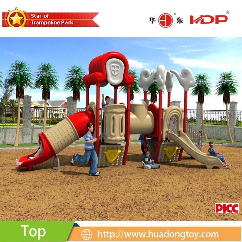 2017 Outdoor Playground Equipment Slide Kids Dream Xiangyun House Serise (HD17-022B)
