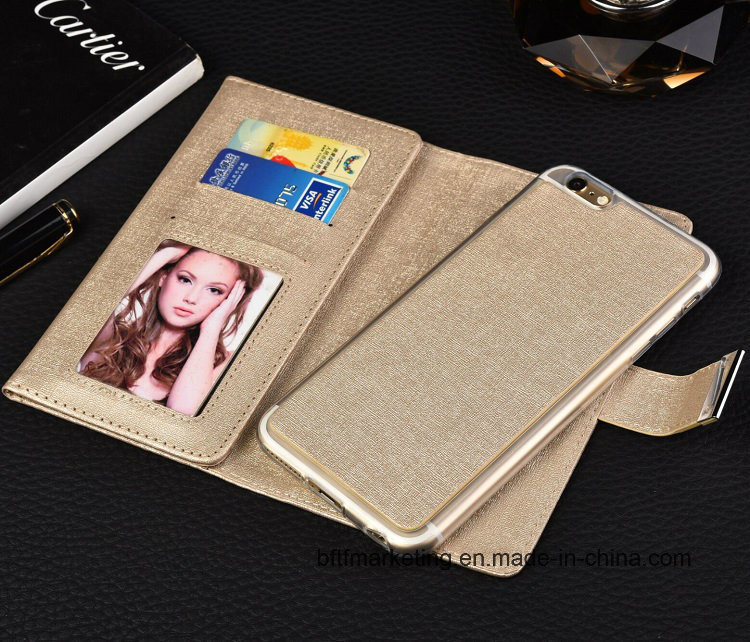 3 Folded Wallet Phone Case for iPhone 8/8plus