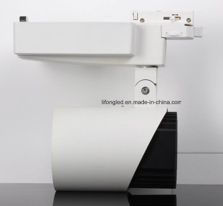 High Quality White & Black LED Down Tube Track Light, 35W COB Track Light
