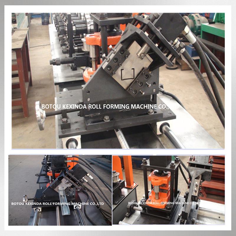 Kxd Metal Stud C U Profile Making Machine