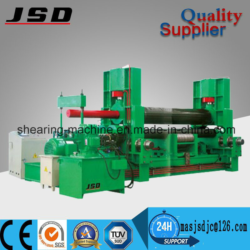 W11s Steel Hydraulic Three Rollers Rolling Machine for Rolling