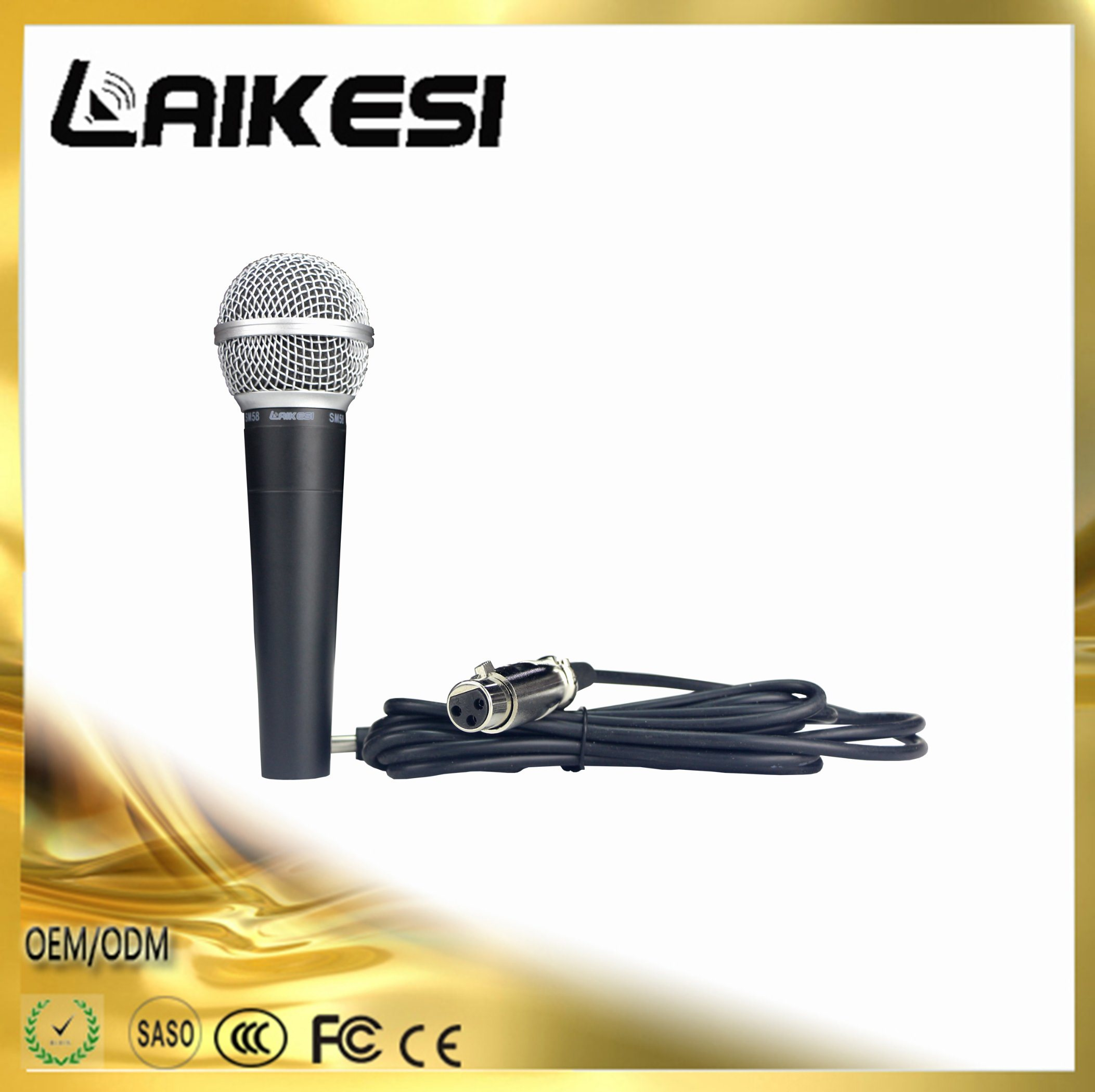 Sm58 Series Wired Microphone New Dynamic Microphone