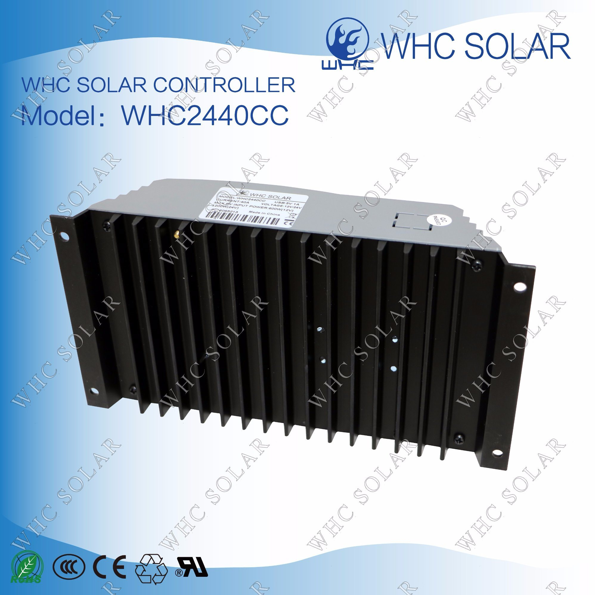 12V24V 40A PWM Solar Charge Controller