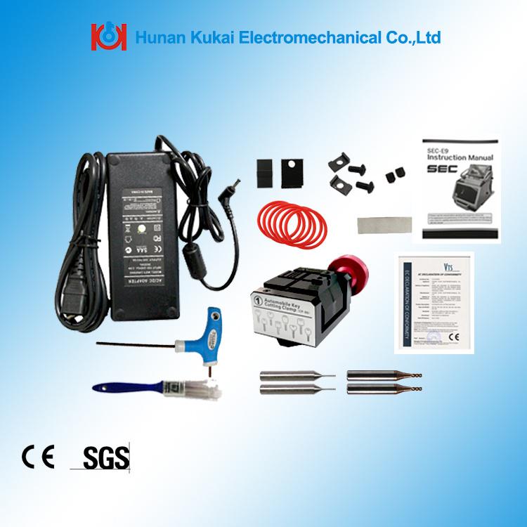 Great Promotion Portable China Sec-E9 Automatic Duplicate Car Key Code Cutting Machine Key Copy Machine