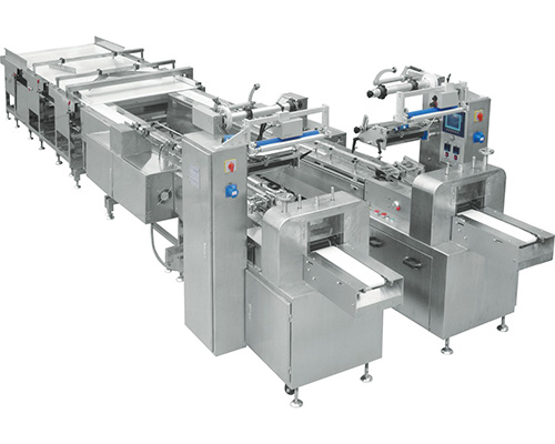 Automatic Packing Machine with Product Tidying and Feeding