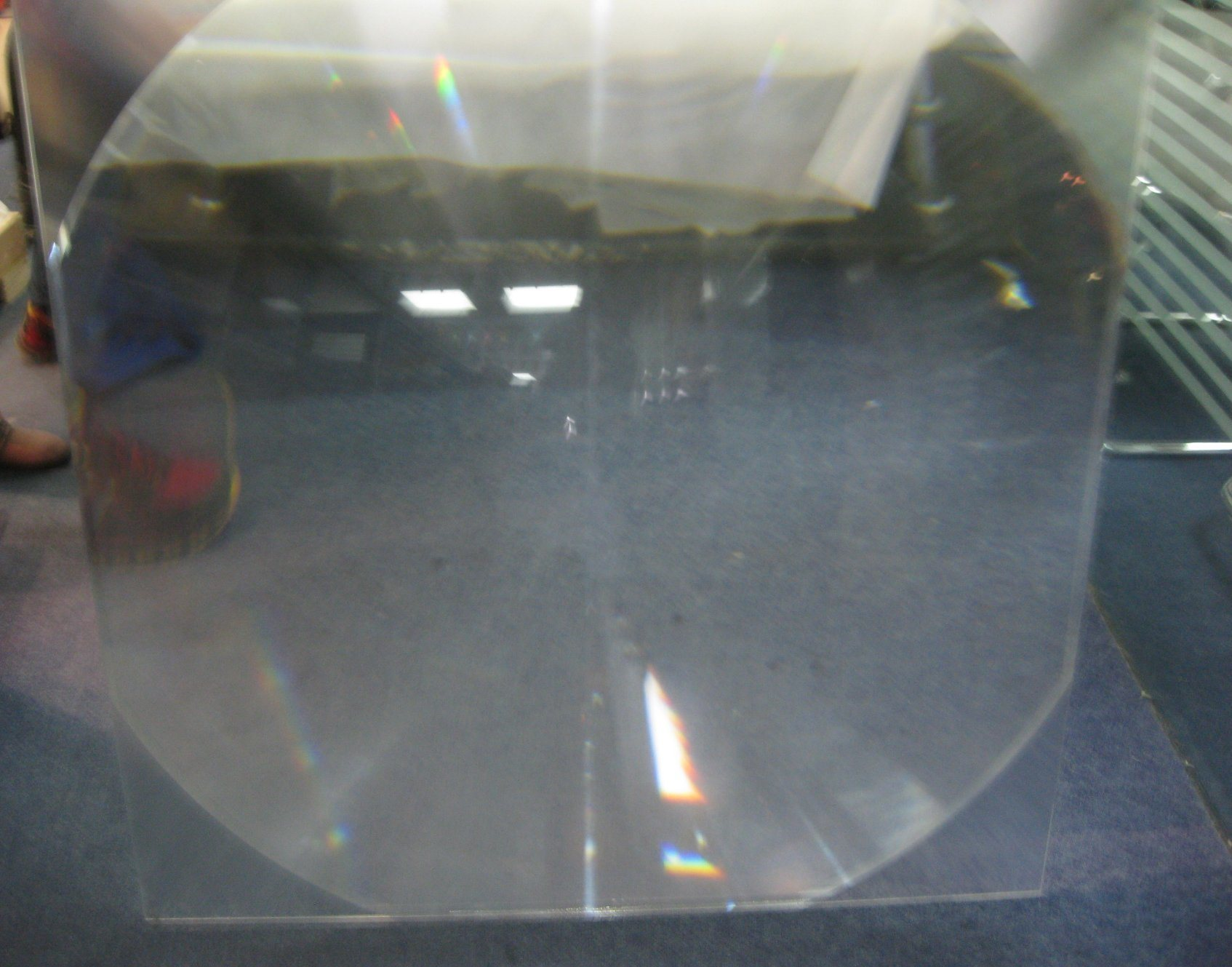 Good Quality PMMA Materials Solar Fresnel Lens with Diameter 1000mm Solar Lens Cooker Lens Fresnel Solar Cooker Lens