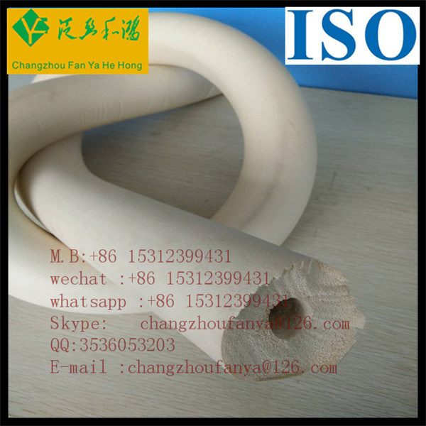 OEM Heat Thermal Foam Insulation Rubber Tube for Air Conditioner Duct