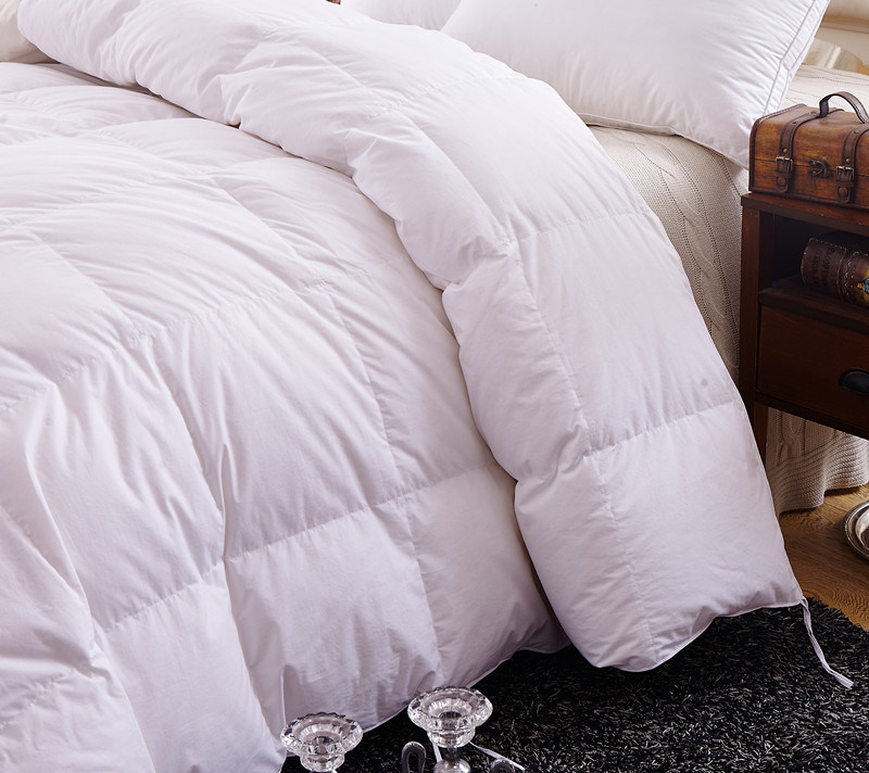 Home Textile 233tc 75% White Duck Down Bedding Comforter