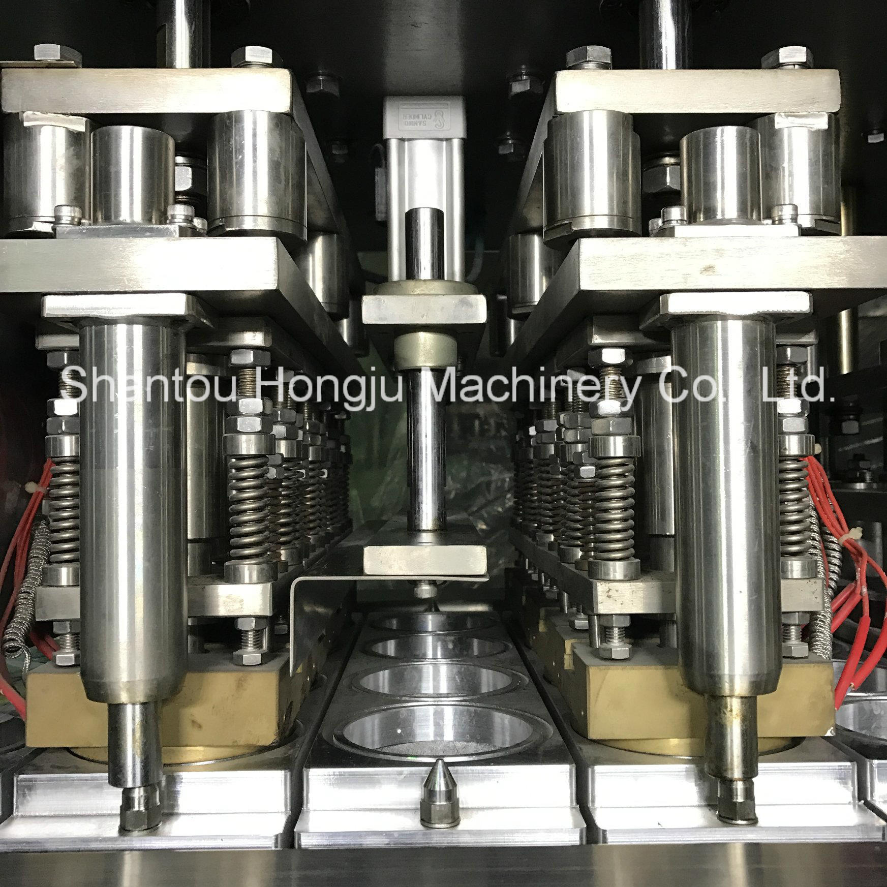 Single Piece Filling Sealing Machine for PP Cups