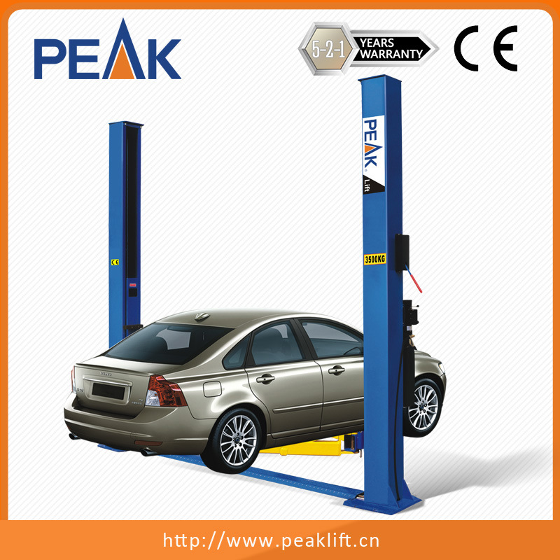China Dual Safety Locks Automatic Two Post Car Hoist 208 China