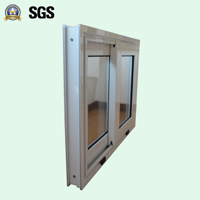 White Colour Powder Coated Aluminum Sliding Window K01060