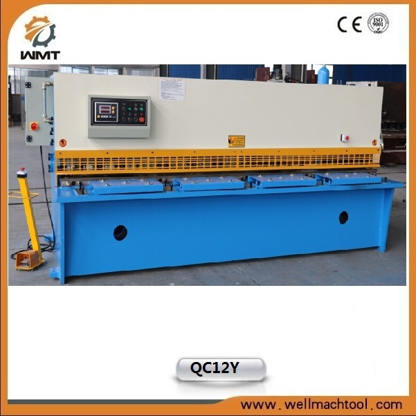 Hydraulic Swing Beam Shearing Machine (QC12Y-8X2500mm) with Ce Approved