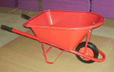 Red Color Kids Wheel Barrow (WB0200)