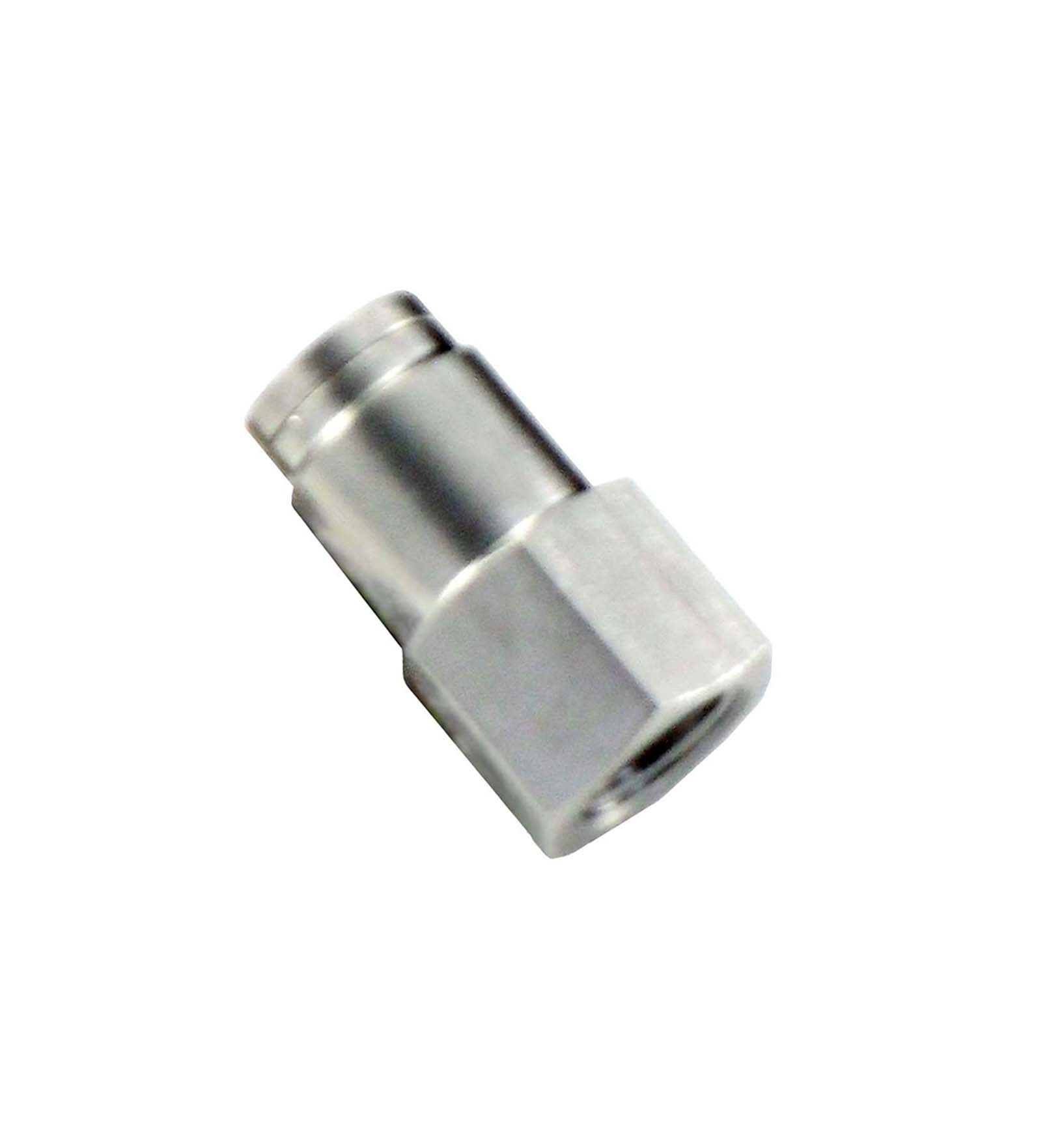 Stc stainless steel female connector push in fittings fcs