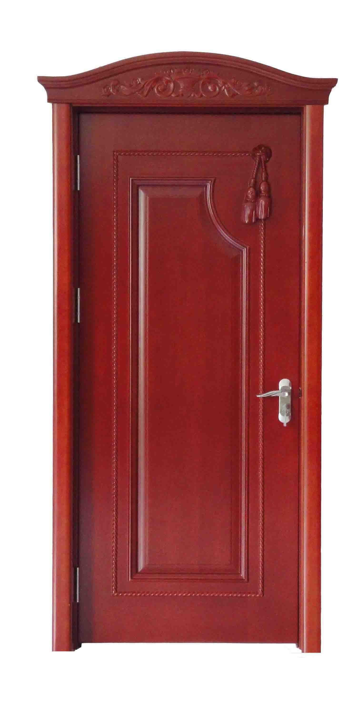 China Solid Wood Door Jtm 104 China Steel Wood Door