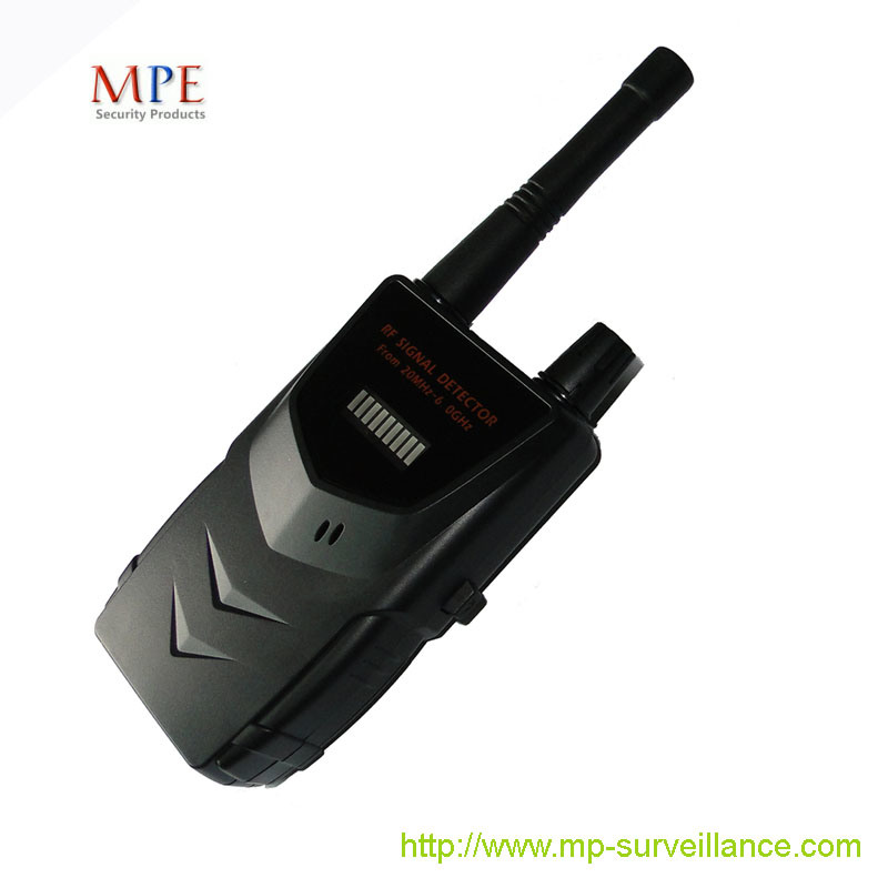 China Portable RF Signal Detector BZ007BC D on car alarm systems