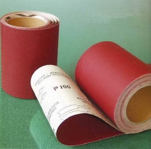 Papersand with pyscho Sand-Paper-Roll