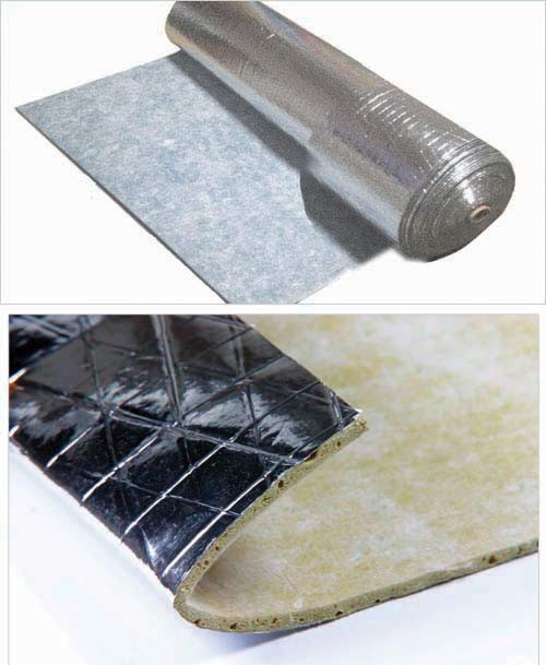 China silver rubber underlay china rubber underlay for Rubber laminate flooring
