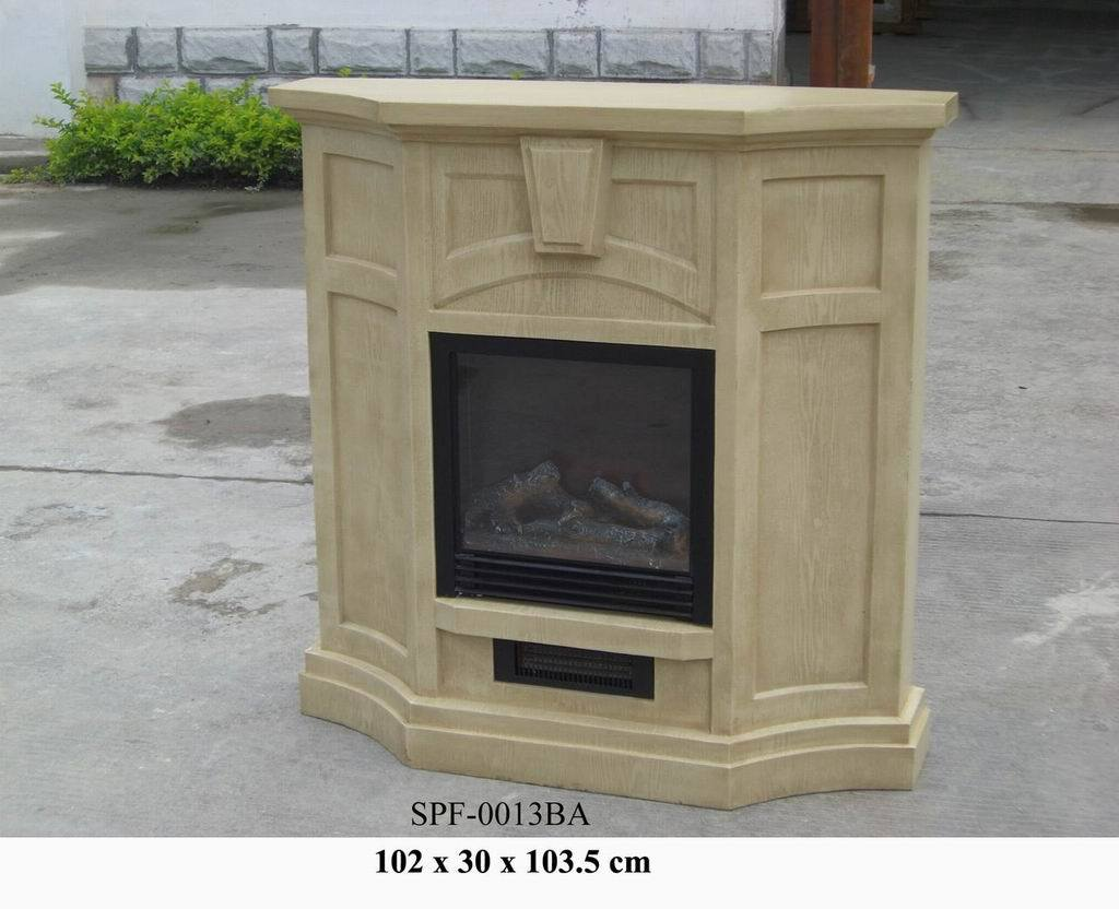 China Wooden Finish Electric Fireplace Spf 0013ba