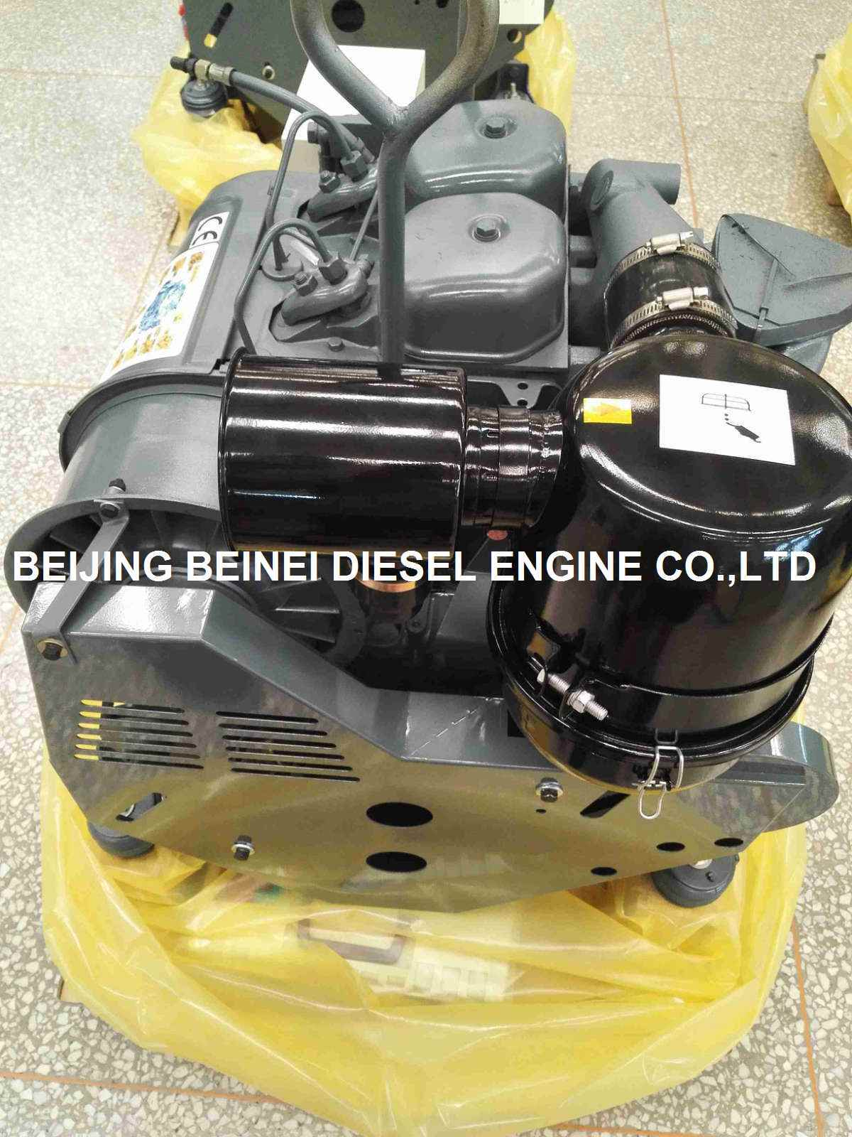 Genset Diesel Engine Air Cooled F2l912 1500 Rpm