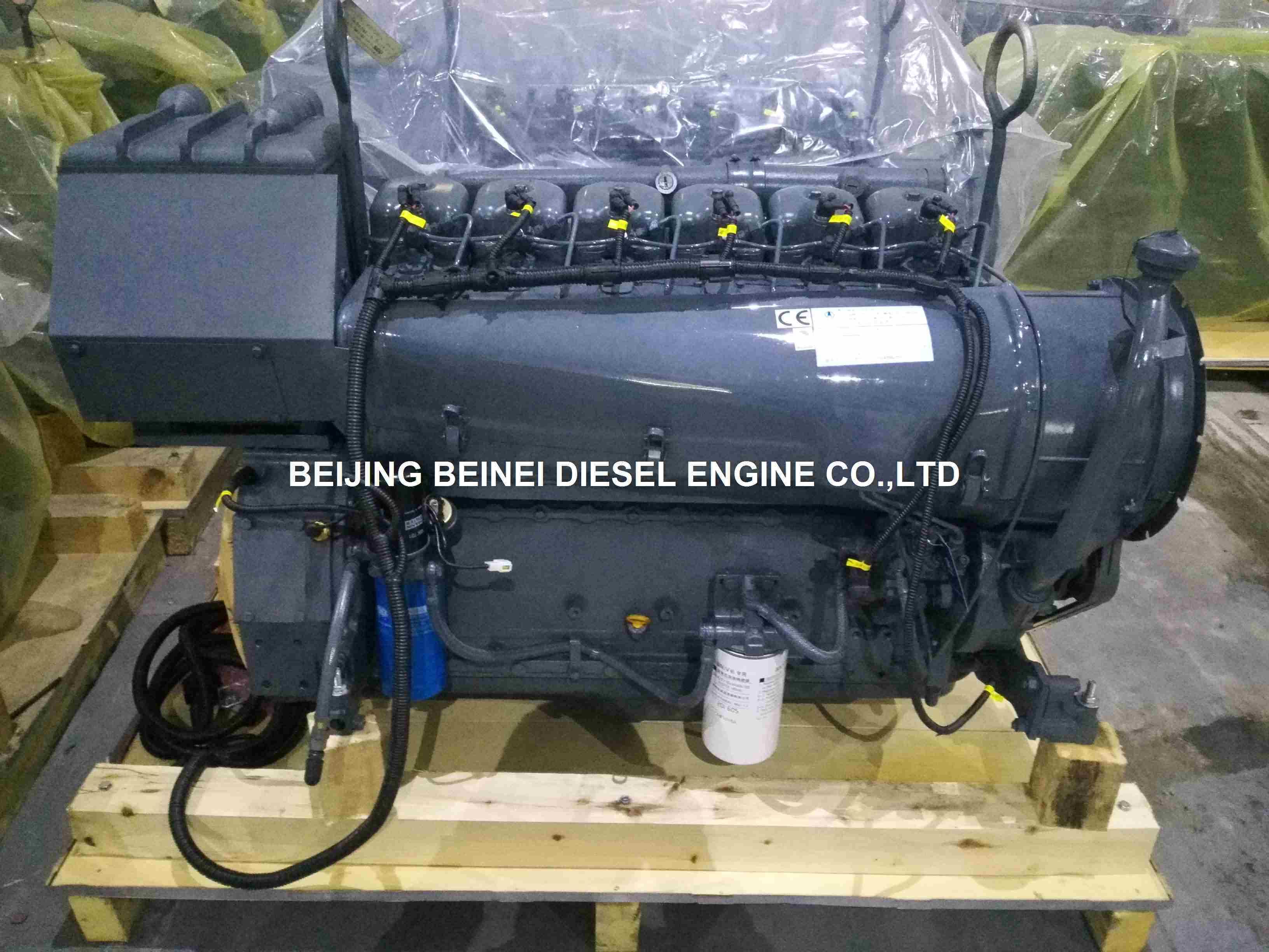 Beinei Deutz Air Cooled Diesel Engine/Motor FL912/913/914 1800rpm