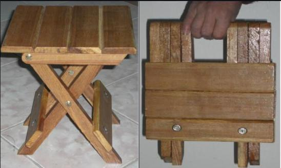 Folding Wooden Stool Plans, outdoor patio furniture ...