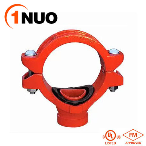 FM/UL/Ce Approved Pipe Fittings Ductile Iron Mechanical Tee (threaded)