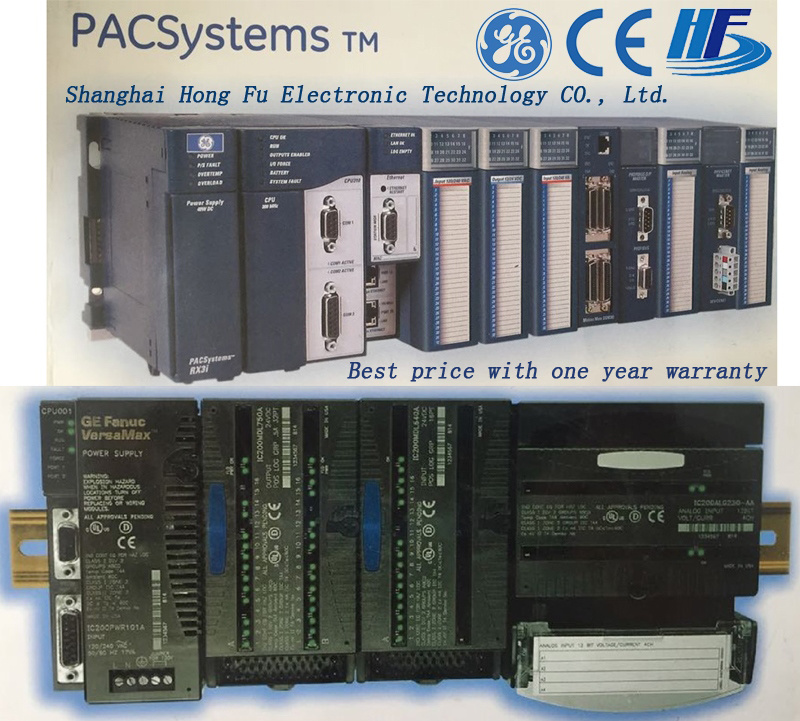 Programmable Logic Controller for Industry Control (IC200mdl650) Ge Funuc PLC