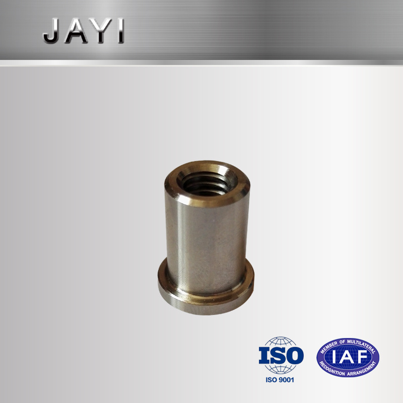 Non-Standard Nut, Stainless Steel Nut with Flange, Turning Parts