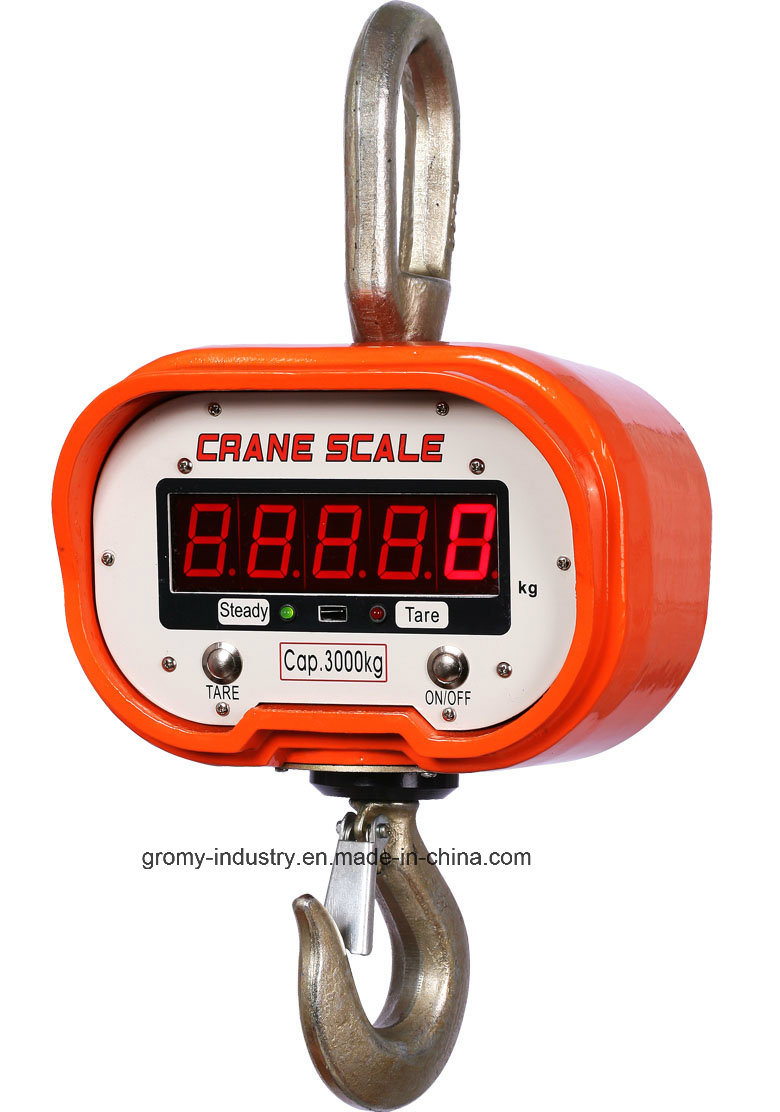 Electronic Digital Crane Scale Hanging Scale Ocs-C 5t