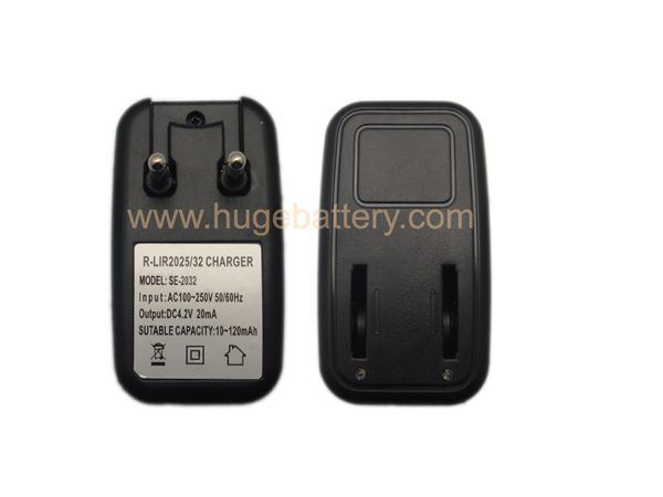 High Quality Lir2032, Lir1220, Lir2450 Battery Charger