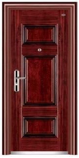 Steel Security Door for Building Project