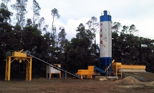 MWCB500 Wet Mix Macadam Plant