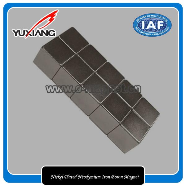 Nickel Plated Neodymium Iron Boron Magnet