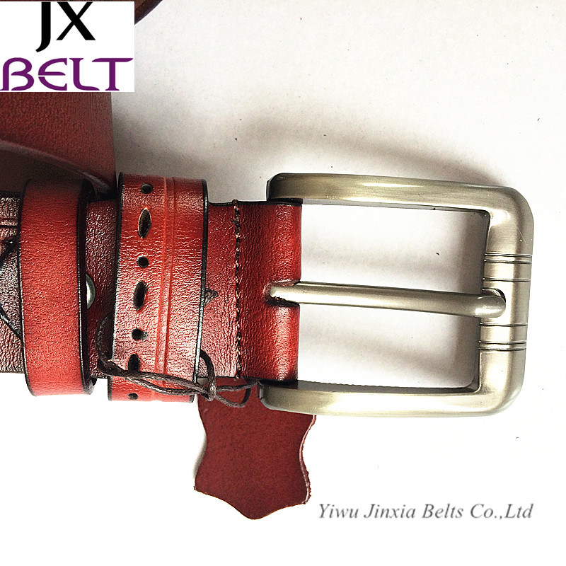 Fashion Man′s Split Cowhide Leather Belt