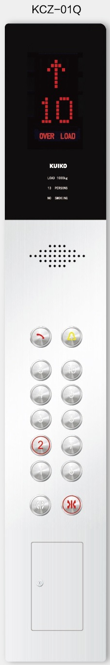 Passenger Elevator with Hairline Stainless Steel Elevator Machine