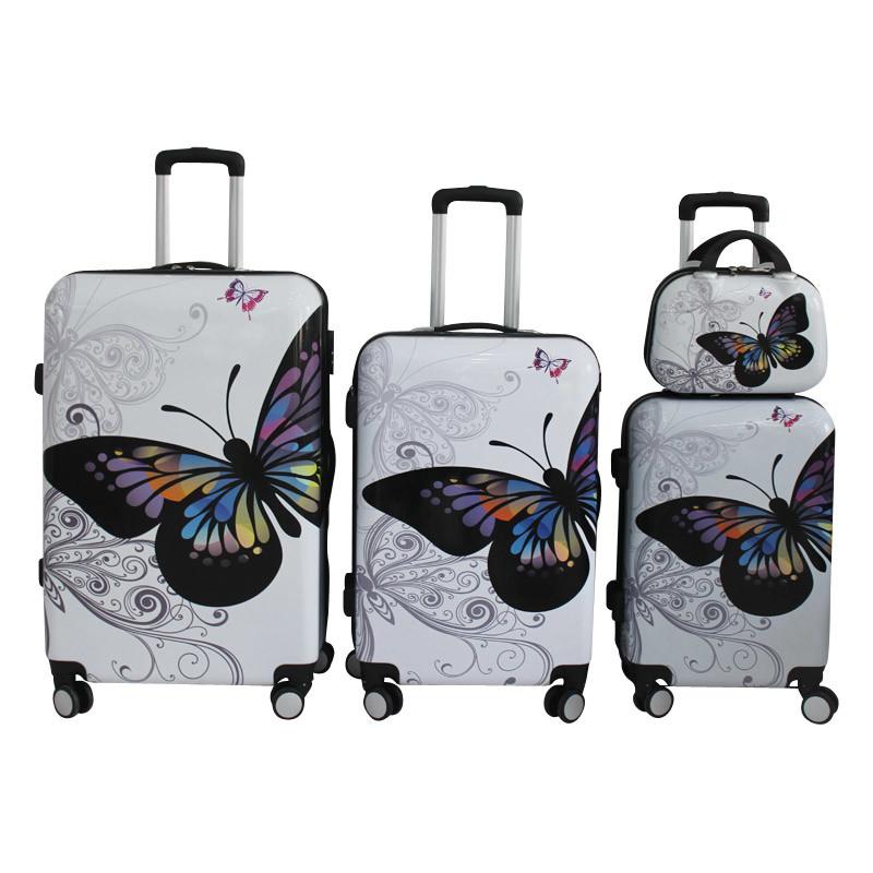 ABS Luggage Trolley Case Suitcase Trolley Bag 1jb003