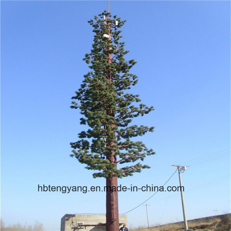 Galvanized Palm Tree Tower / Camouflaged Pine Tree Tower Made in China