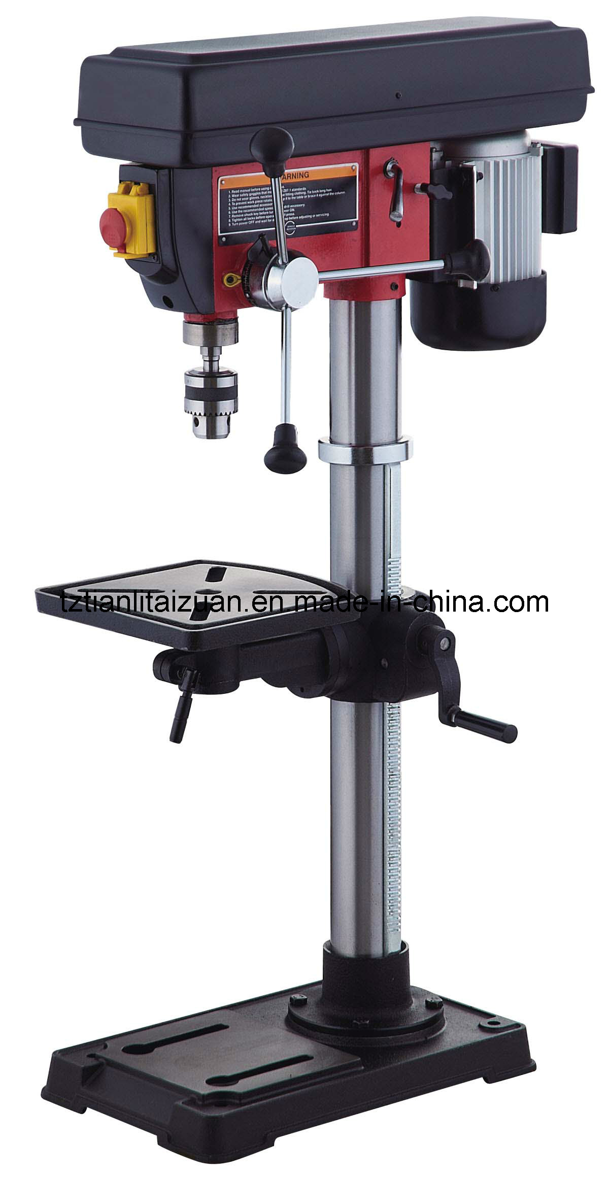 China 16mm Bench Drill Press With 550w 600w Motor Dp33016b 13 China Drilling Machine