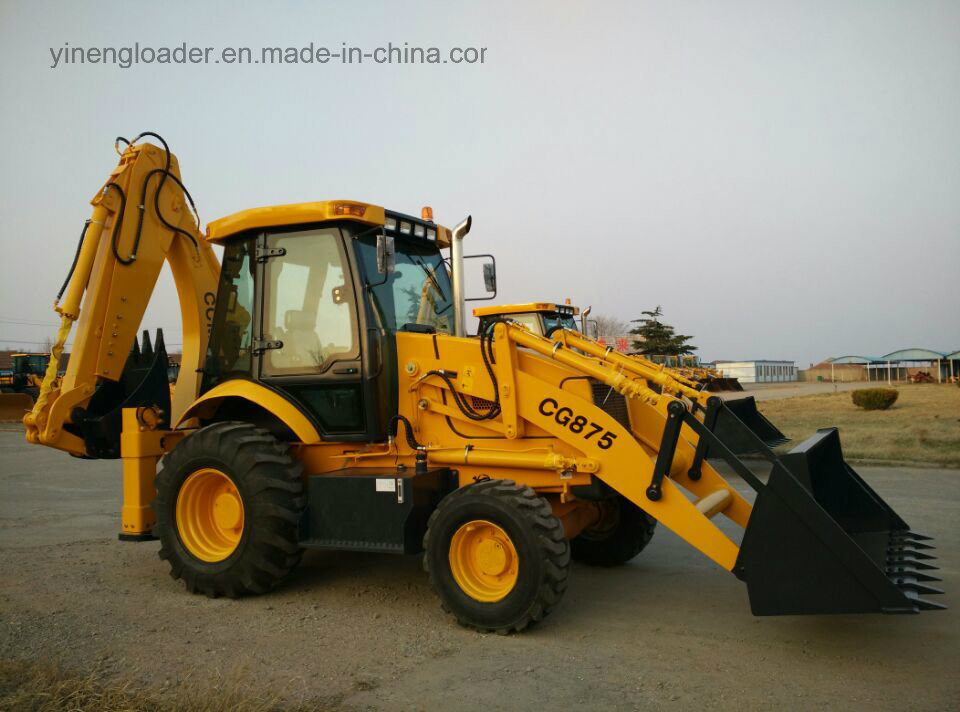 7ton Backhoe Wheel Loader Wz30 25