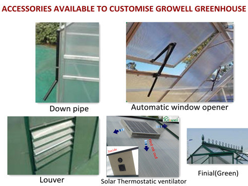 Hobby Greenhouse Accessories for Ventilation