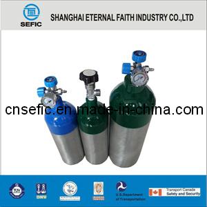 Hot Selling 2L 2.2kg Oxygen Gas Aluminum Alloy Cylinder