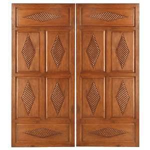 Timber Exterior Door/Wood Villa Luxury Door with Top Quality