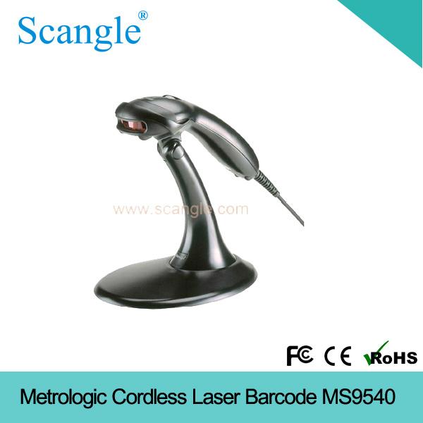 Metrologic Cordless Laser Barcode Reader Ms9540