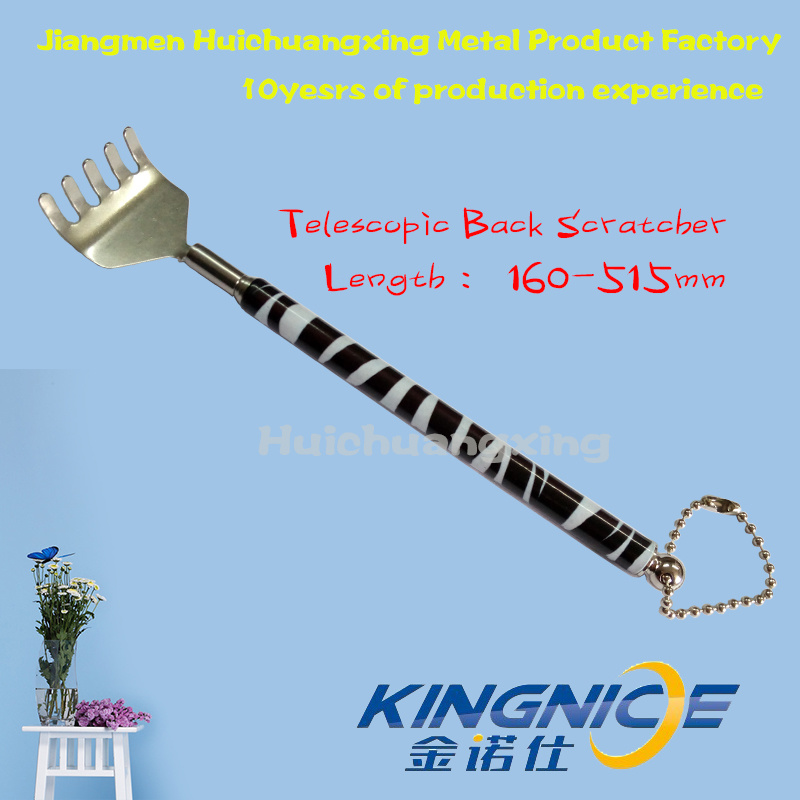 Retractable Back Scratcher Zebras Stainless Steel High Quality