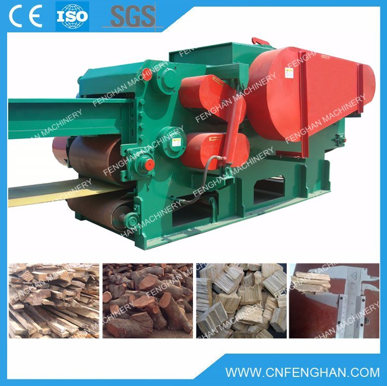 Ly-316 10-15t/H Professional Large Output Drum Wood Chipper for Wood Pellet Plant