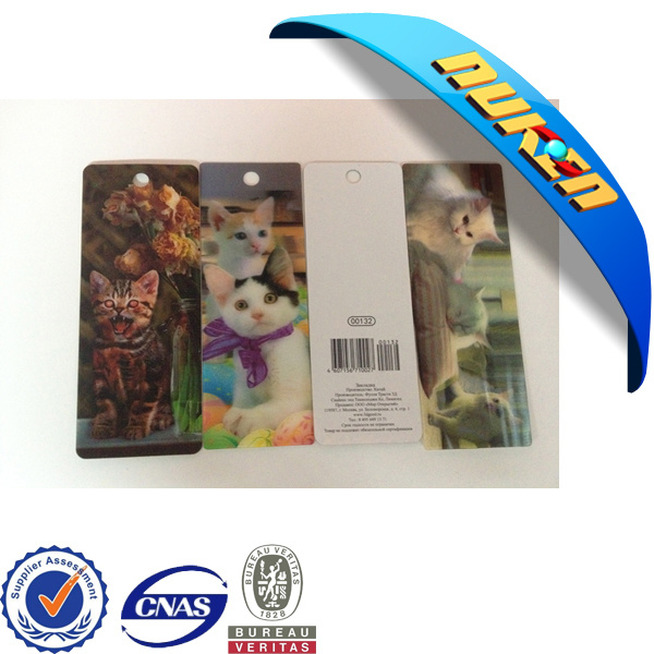 Personalized 3D Lenticular Bookmark