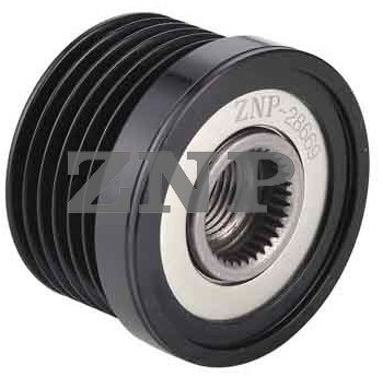 Overrunning Alternator Pulley (ZNP-28669)