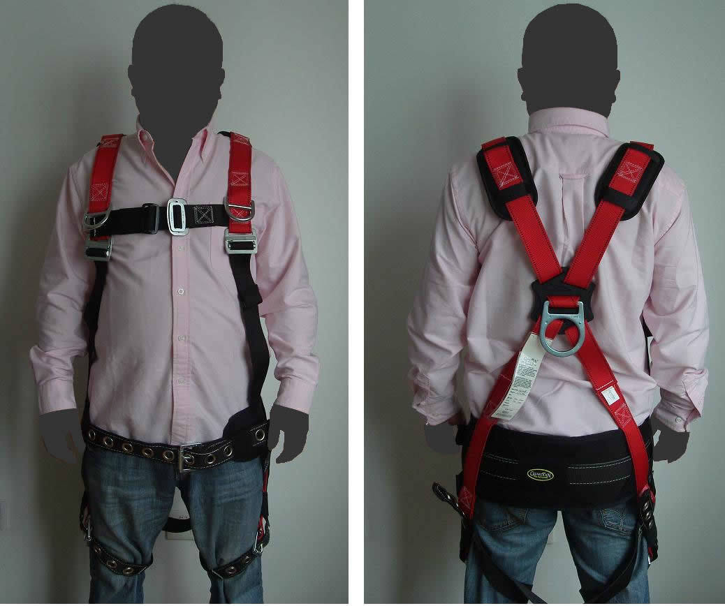safety harness fall protection tool bags
