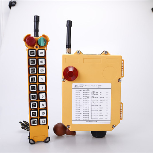 High Quality Multi Channel Industrial Wireless Radio Remote Control